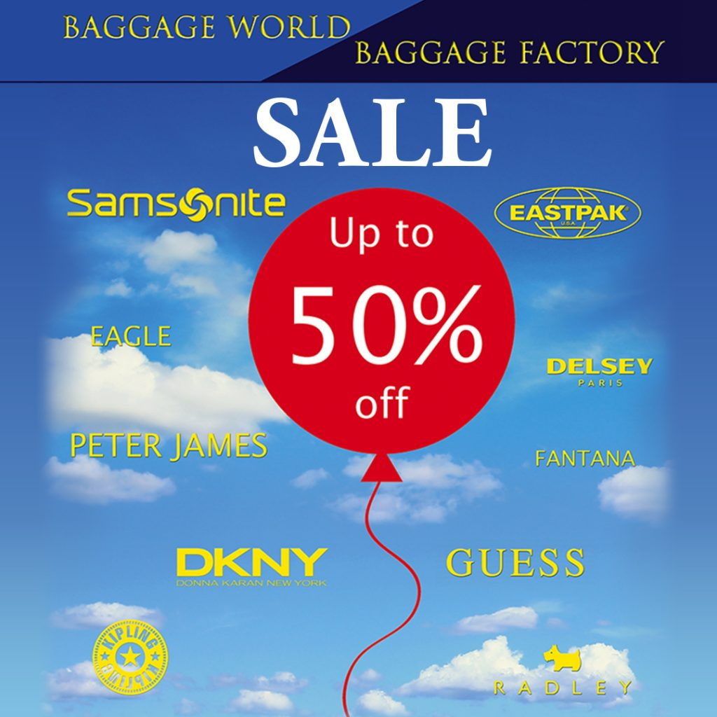 Baggage World Sale